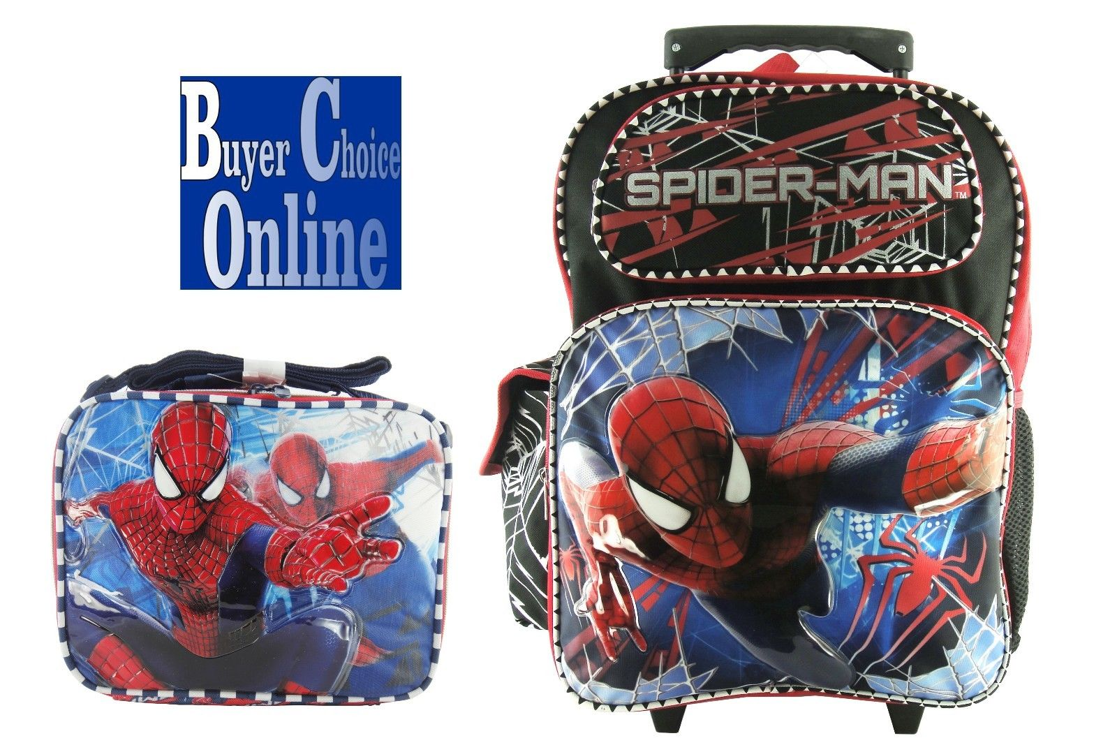 Spiderman Rolling Backpack 1STcmzwi