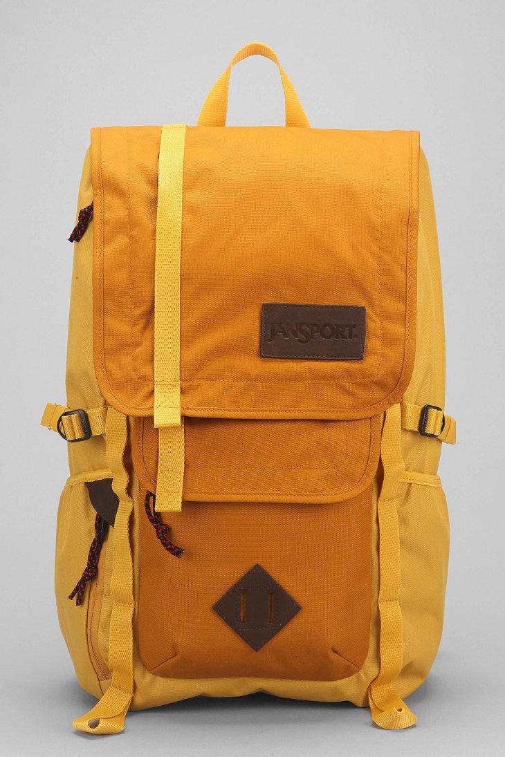 Yellow Jansport Backpack RBVSb3LC
