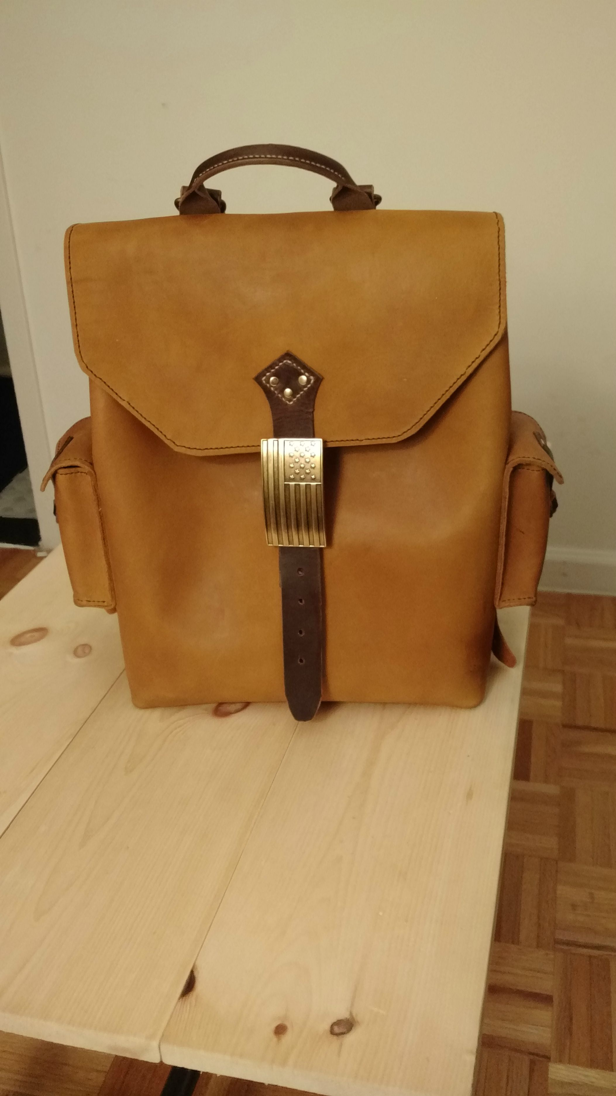 Diy Leather Backpack Ob3Hj4Sp