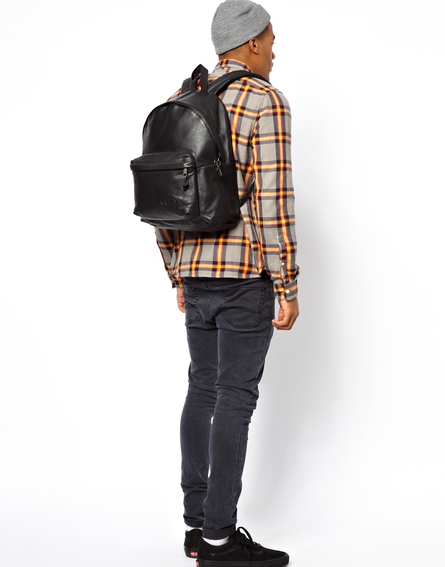 Eastpak Leather Backpack BesItHHN