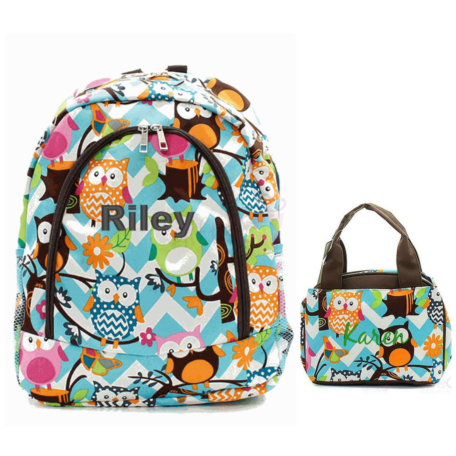 Girls Backpacks And Matching Lunch Bags k7jgJI0y