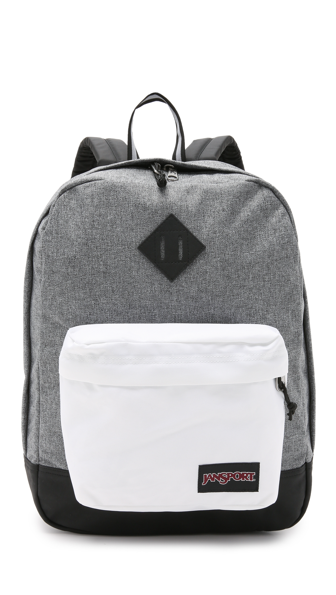 Jansport Backpacks Black And White AGJusvT2