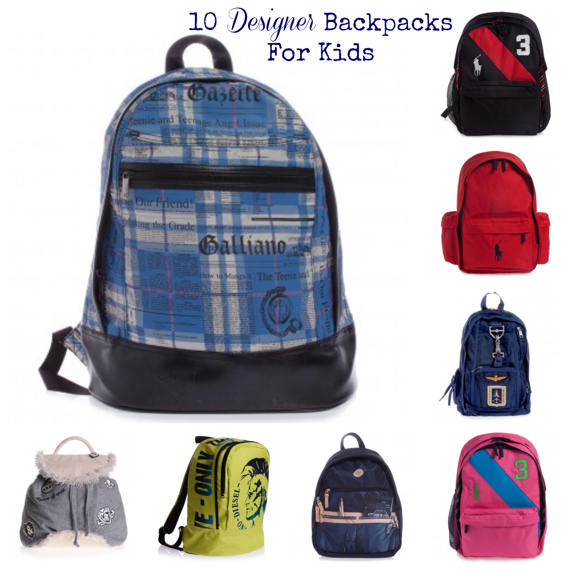 Kids Designer Backpacks UERQwFCf