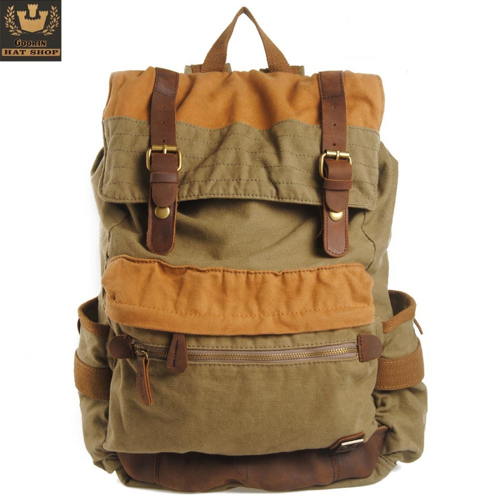 Korean Leather Backpack HSsArxM0