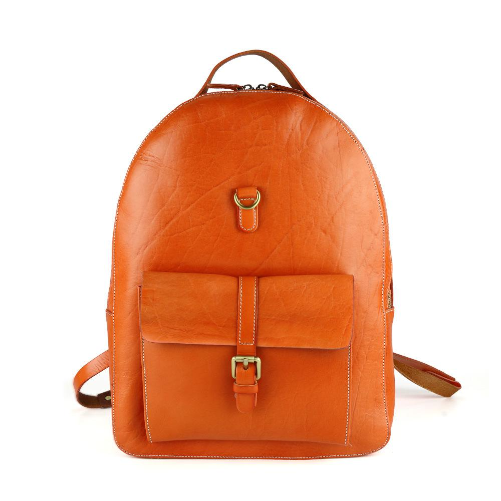 Korean Leather Backpack qDV82r02