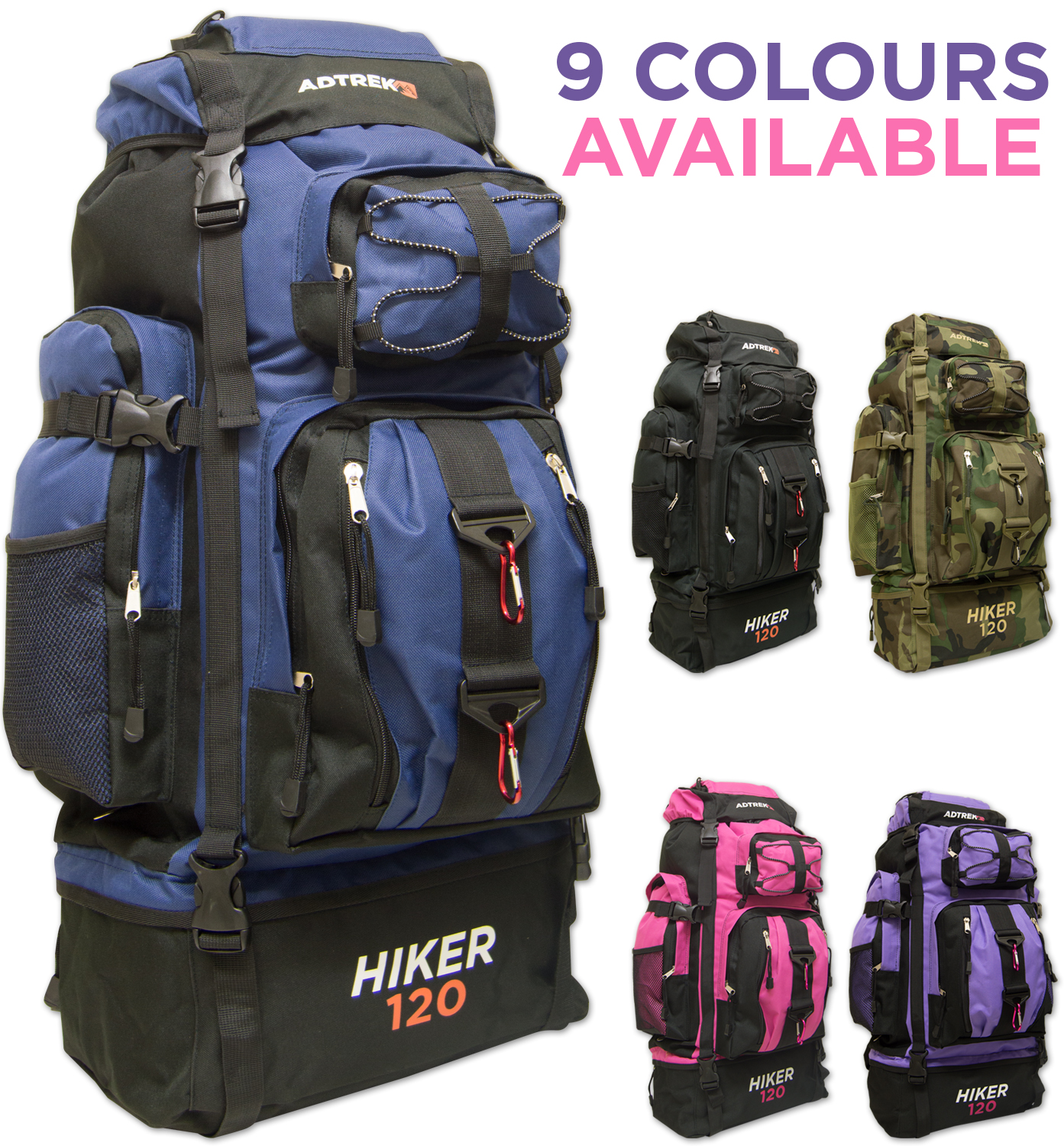 Large Hiking Backpacks sob4bFxL