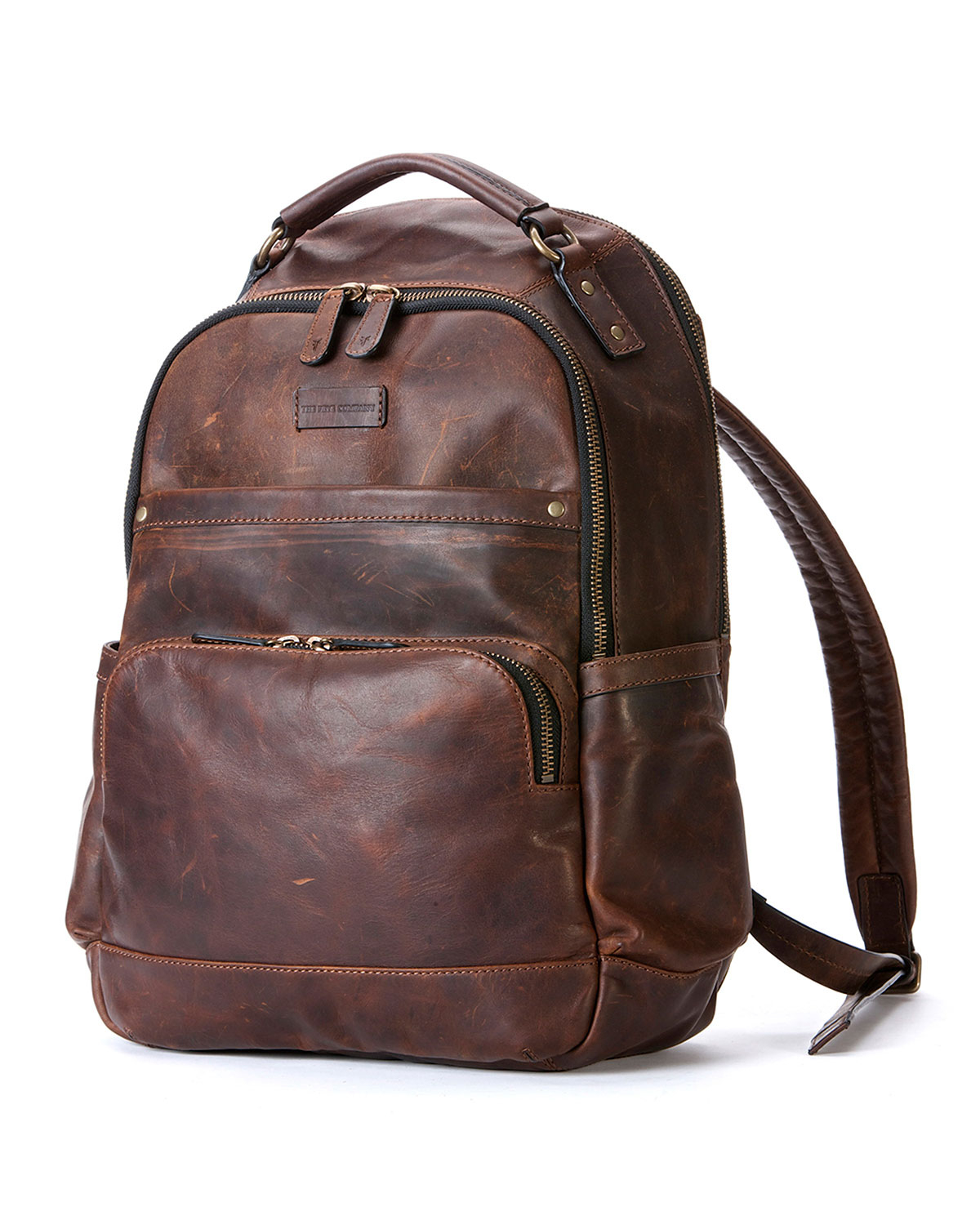 Leather Brown Backpack 1bRNtM0U