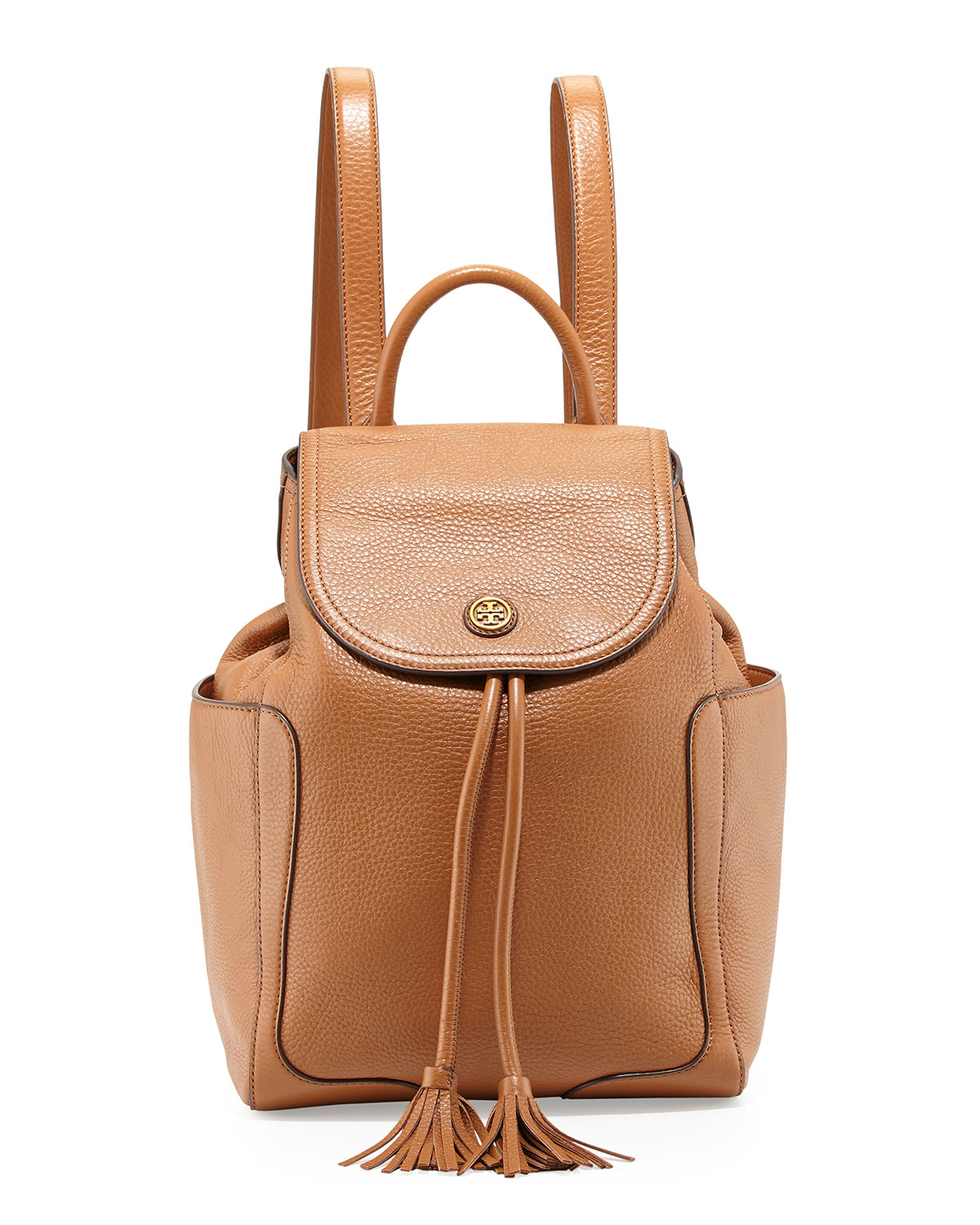 Leather Flap Backpack d9RtchoG