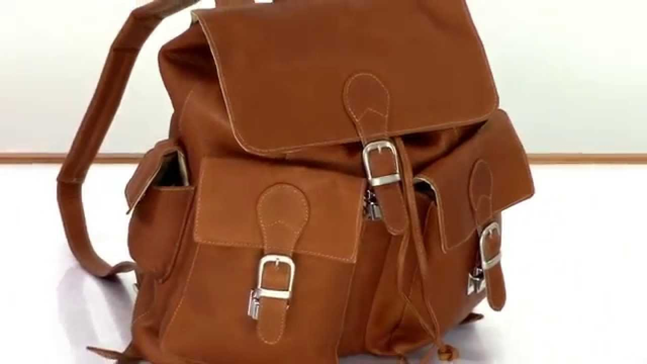 Leather Flap Backpack nAHHD3jd
