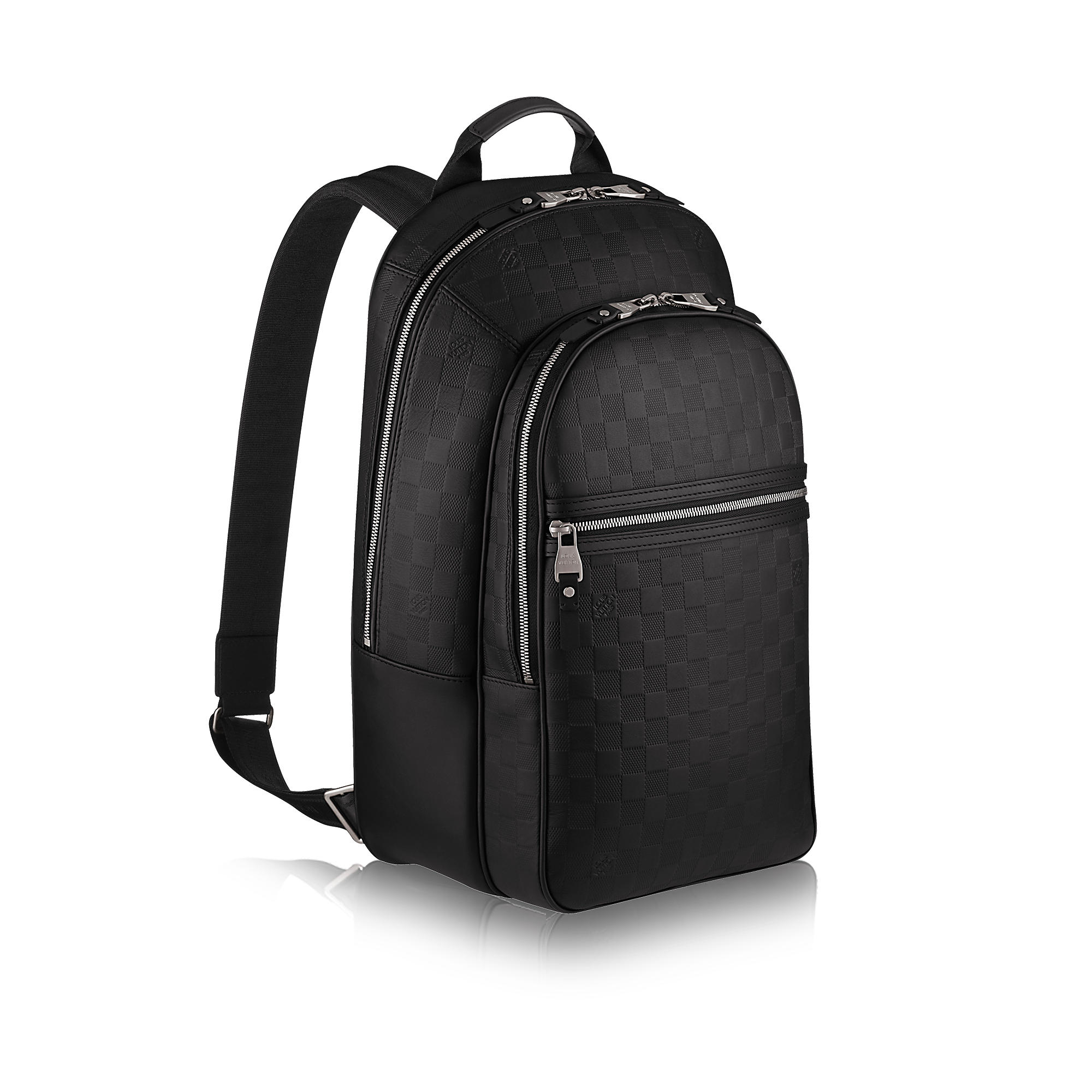 Leather Men Backpack SUO3e234