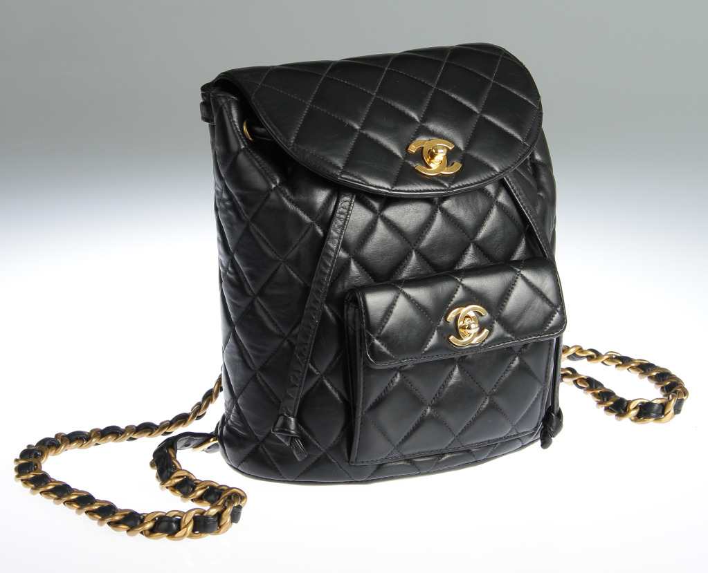 Leather Quilted Backpack RLHJouR2