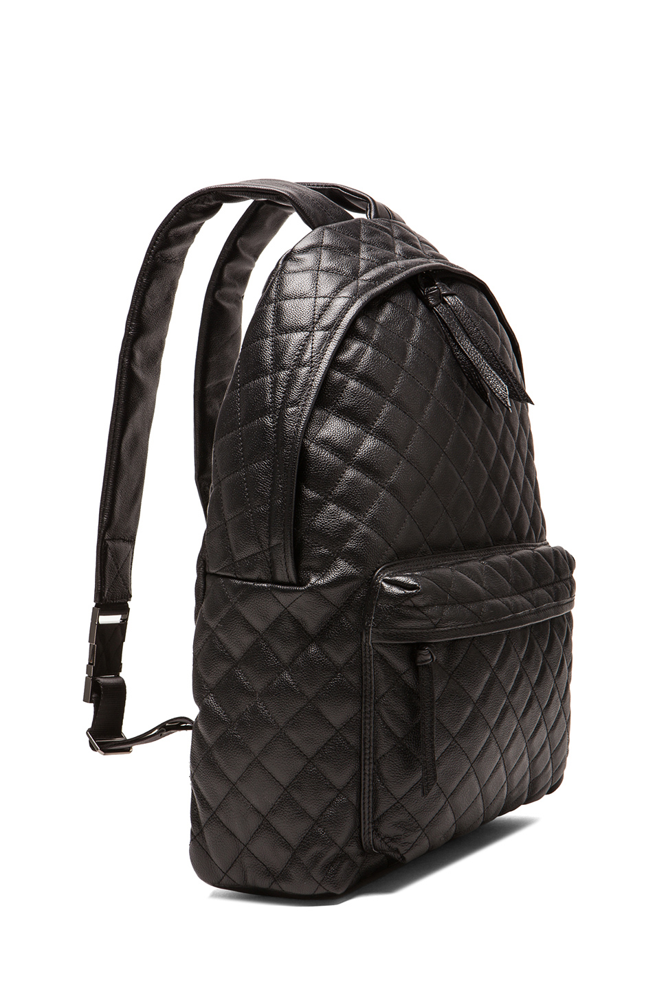 Leather Quilted Backpack K8x2sEbC