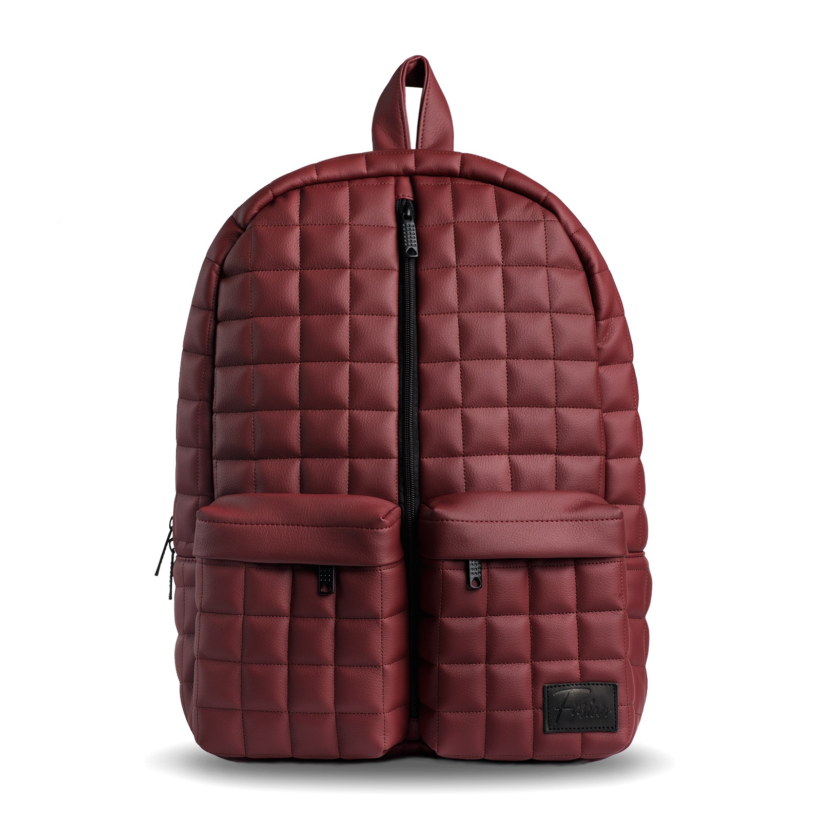 Leather Quilted Backpack Fcflc7NY