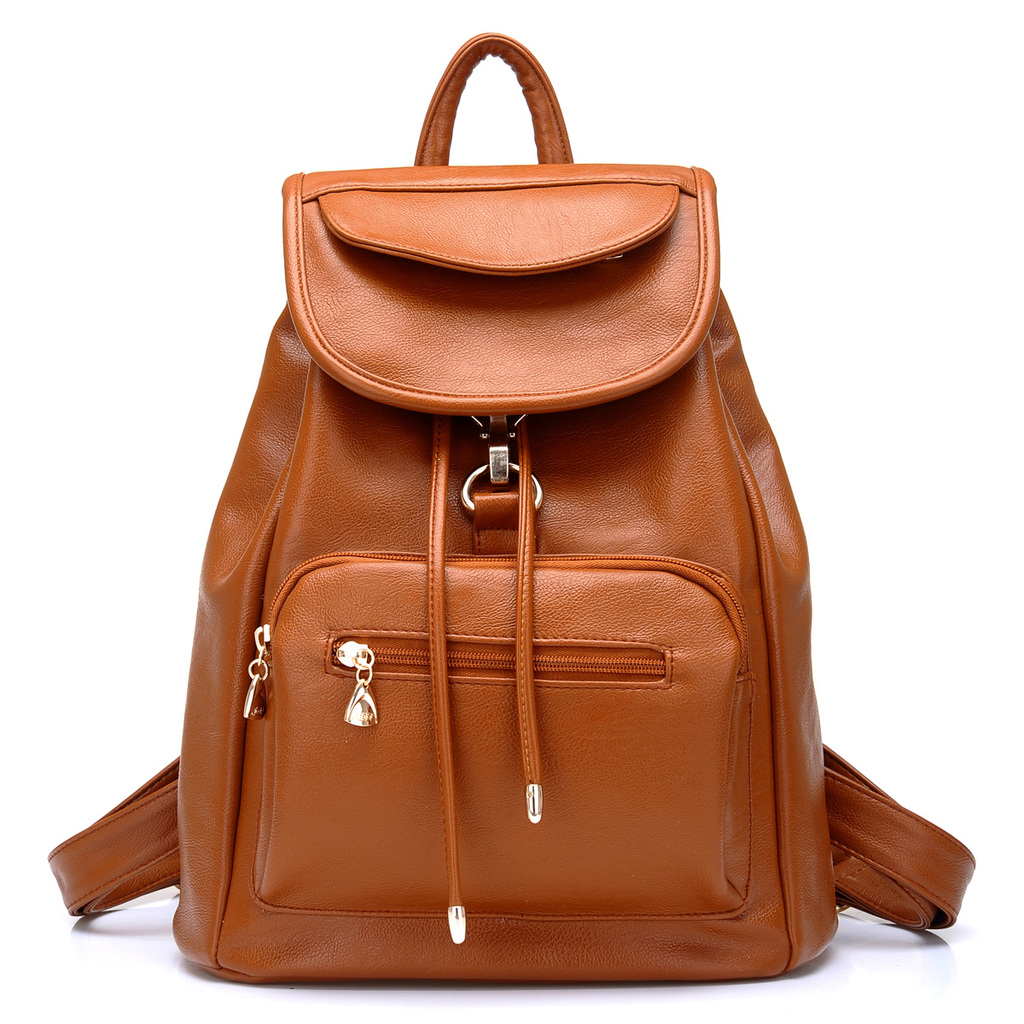 Leather School Backpacks GnaPtTtI