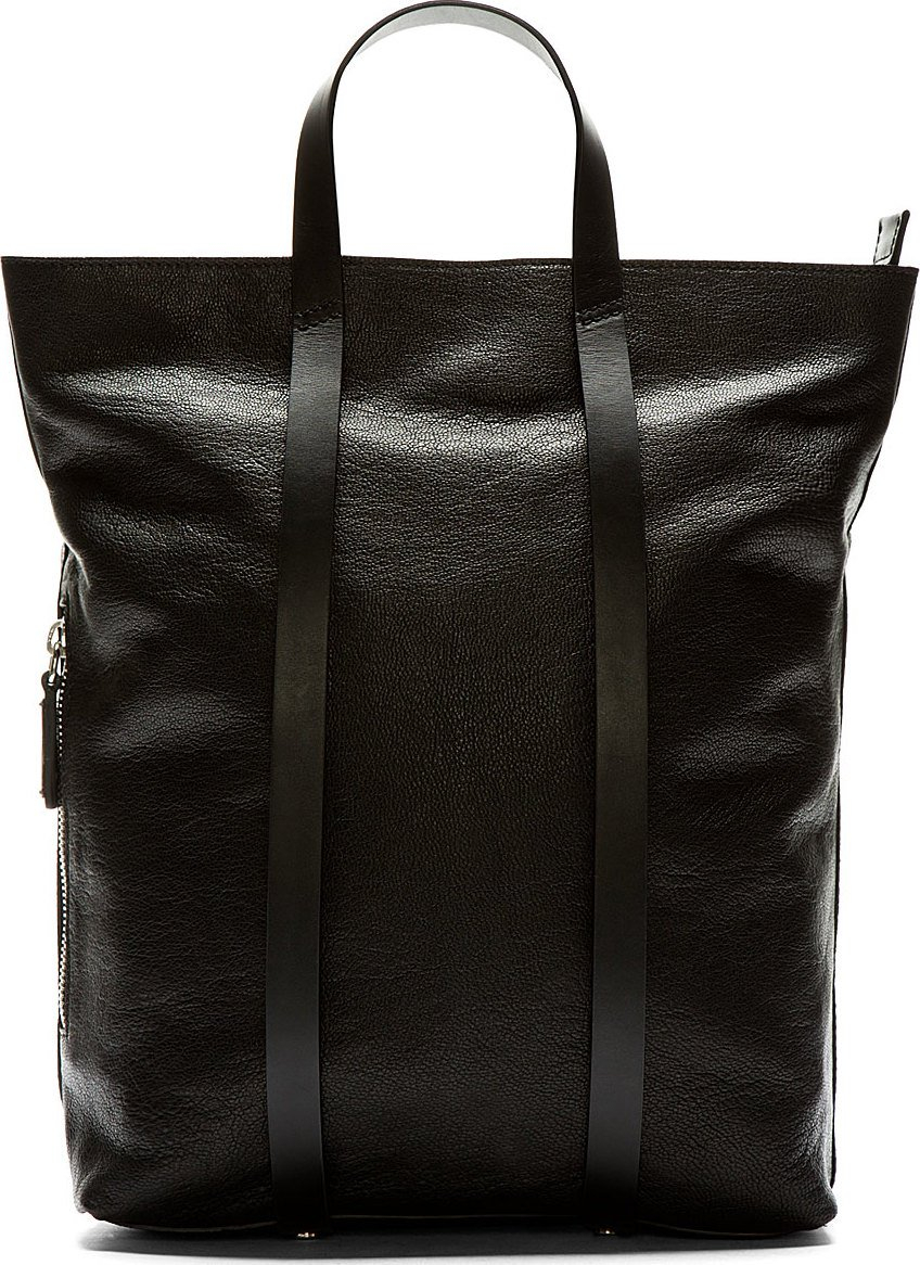 Leather Tote Backpack TCCjRdYK
