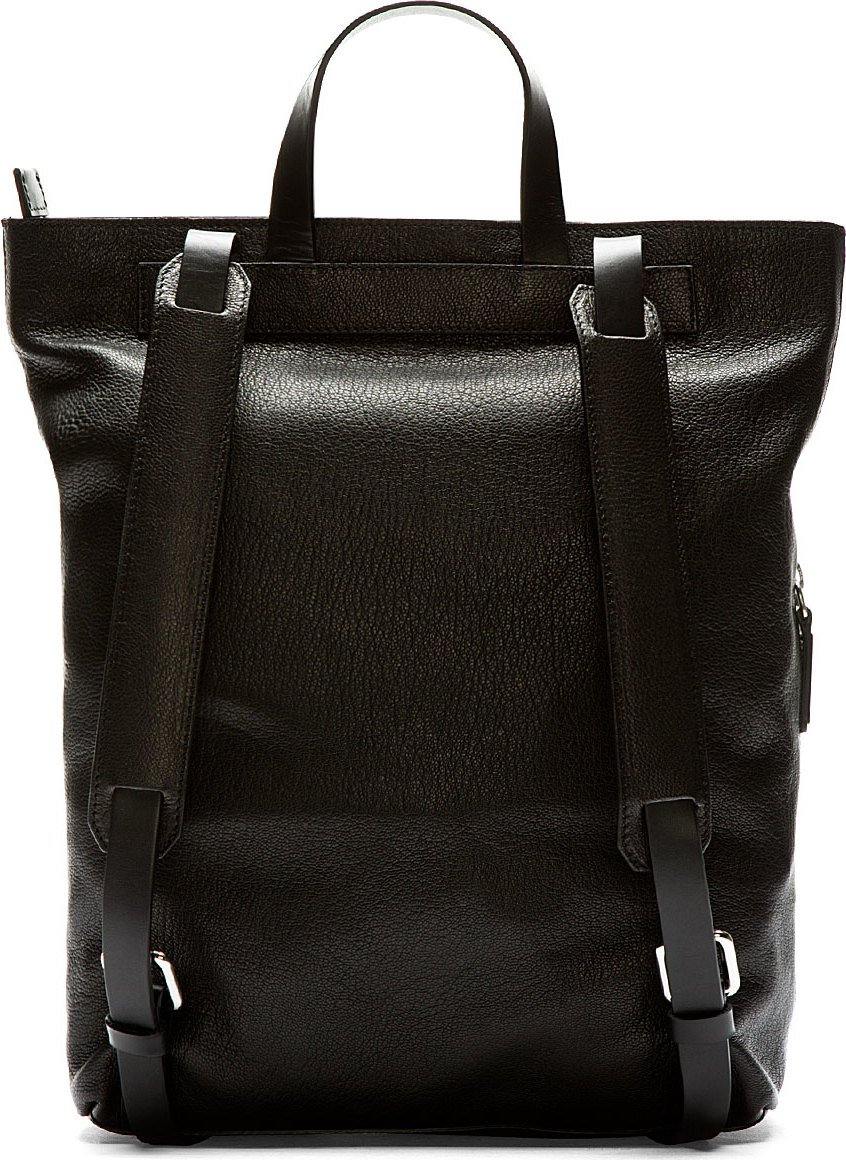 Leather Tote Backpack - Backpakc Fam
