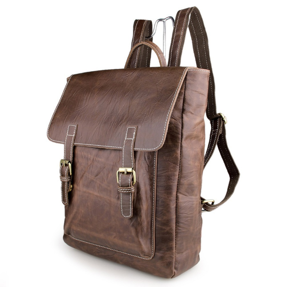 Leather Vintage Backpack C5wEBj4U