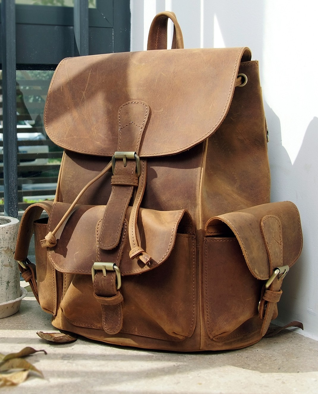 Leather Women Backpack 6il0fPBj