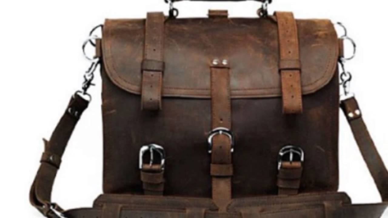 Mens Leather Backpack Briefcase Fr0HaRvr
