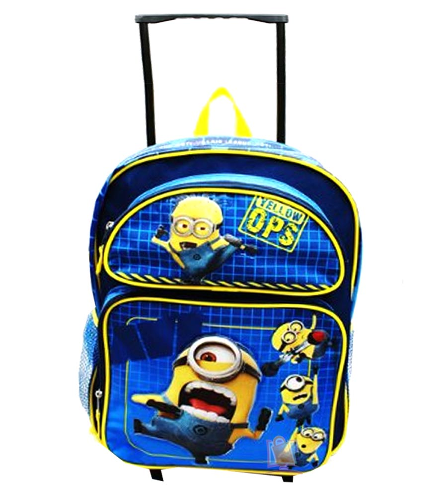 Minion Rolling Backpack WKO3kQX6