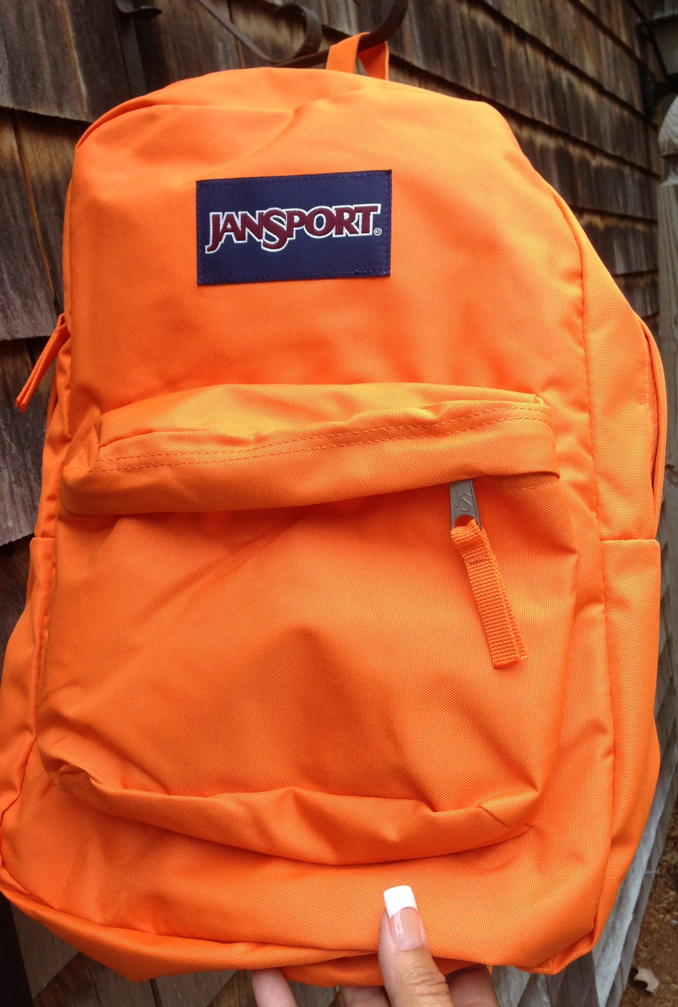 Neon Orange Jansport Backpack be7gIzmn