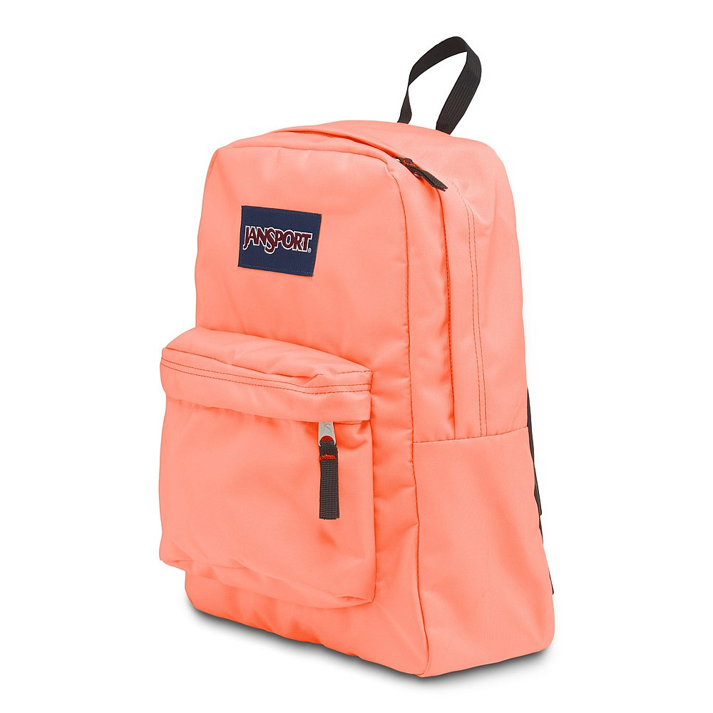 Neon Orange Jansport Backpack NI0tvJbY