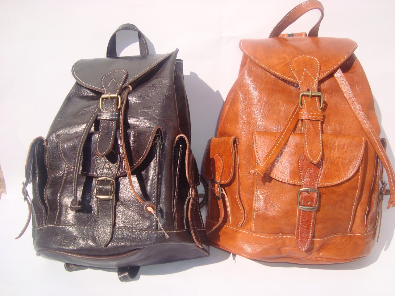 Vintage Leather Backpacks Bj3LO5dL