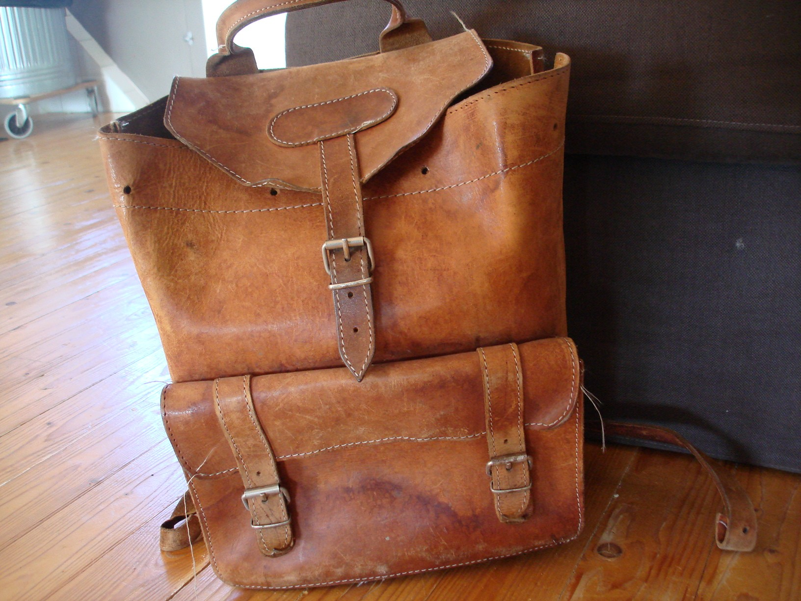 Vintage Leather Backpacks 6HQlbGn4