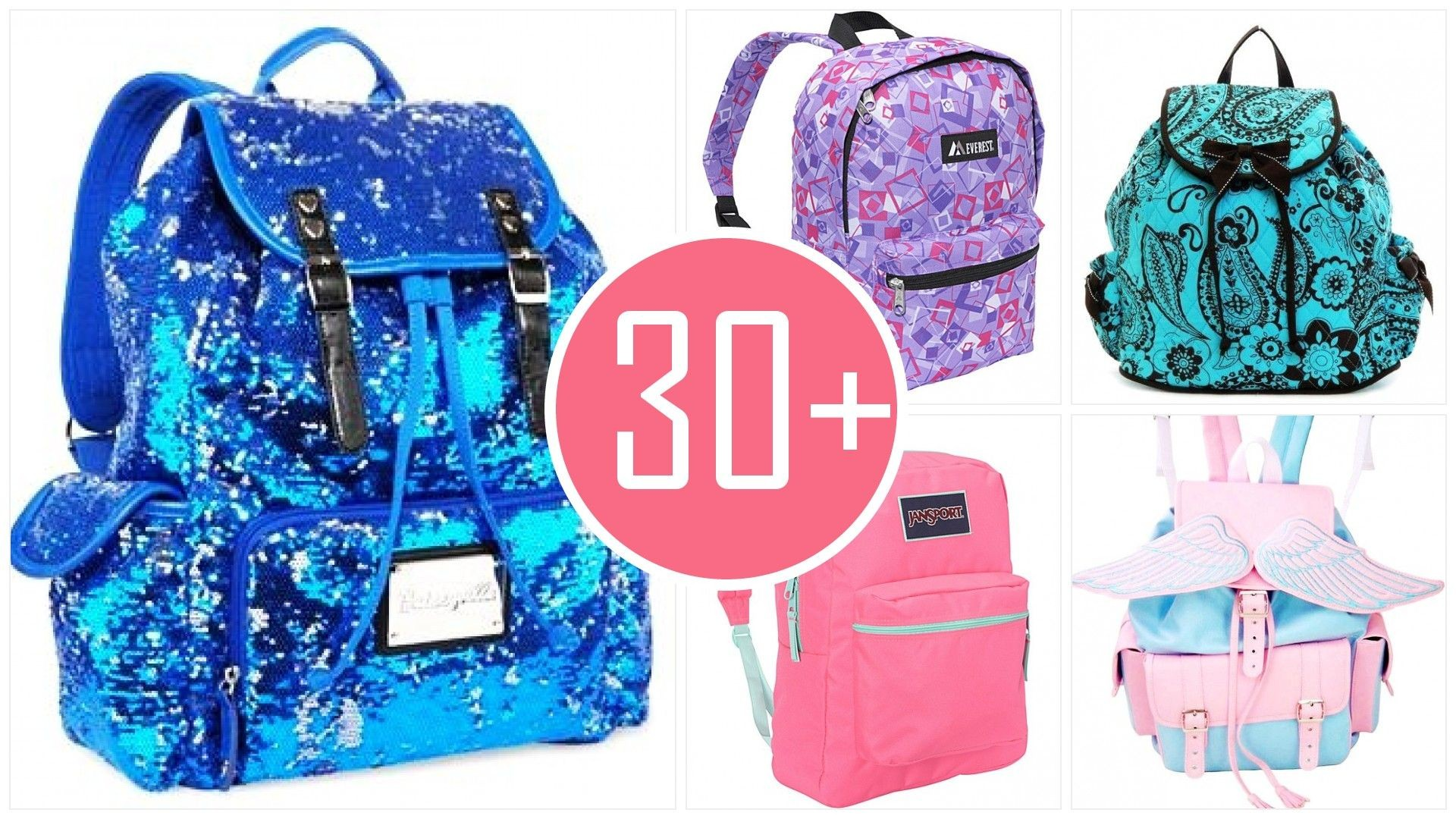 53727e41217 Backpack School Girl - Backpakc Fam