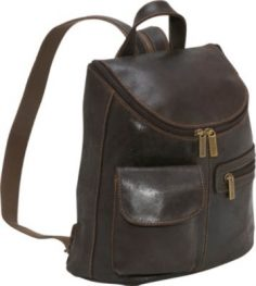 Womens Leather Backpack Purses